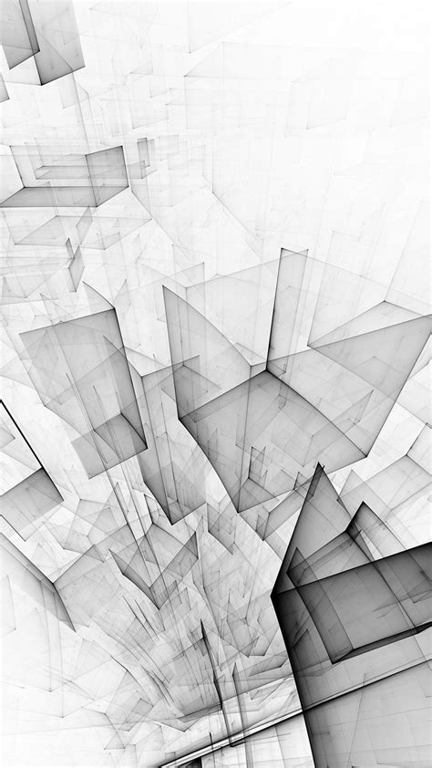 cube pattern wallpaper abstract wallpapers 28617 abstract bw white cube pattern iphone 6 plus wallpaper