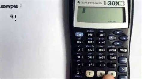 calculator factorial calculating factorials using the ti 30x iis calculator