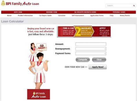 bpi family savings bank housing loan with bpi family auto loan why dream when you can drive