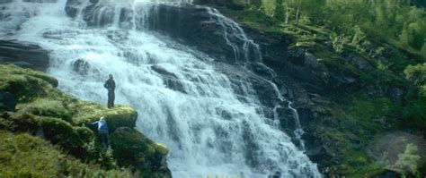 ex machina waterfall waterfall gif find share on giphy
