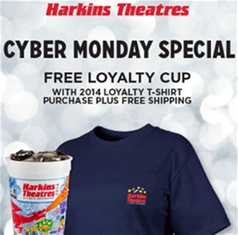 Harkins Gift Card Free Popcorn - harkins free 2014 loyalty cup w shirt purchase online w free shipping bargain