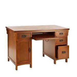 Home Depot Computer Desk Home Decorators Collection Mahogany Storage Desk Ho8808 The Home Depot