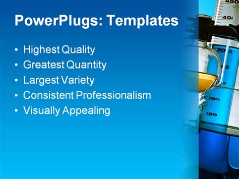 powerpoint themes laboratory ppt template laboratory equipment analyzing text slide