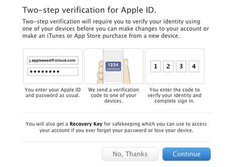 enable  step verification   apple id macstories