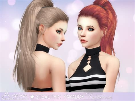 sims 4 hair sims 4 hairs aveira sims 4 stealthic s paradox hair