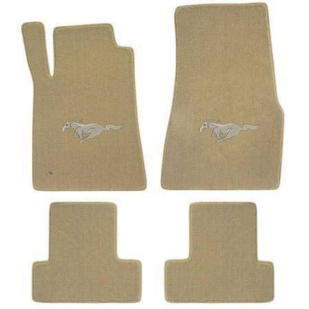 98 mustang carpet 94 98 mustang parchment floor mats beige pony emblem