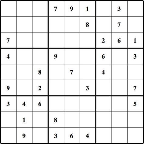 Grille De Sudoku Facile à Imprimer by Sudoku A Imprimer Sudoku 224 Imprimer Sudoku Facile Celui