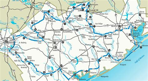 independence texas map texas independence trail texas highways