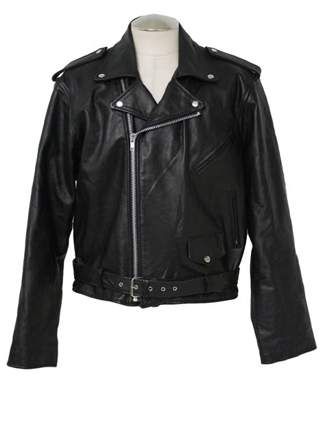 motorcycle style jacket mens black leather jackets prada black leather zip front
