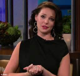 katherine heigl in tears as she opens up about her