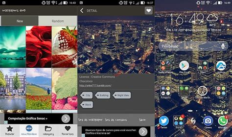 android qhd layout 6 apps de wallpapers para android