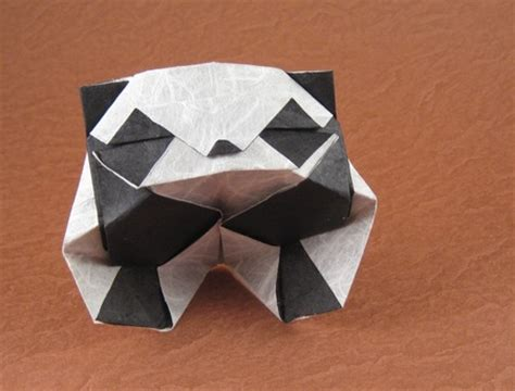 Easy Origami Panda - origami panda bookmark food ideas