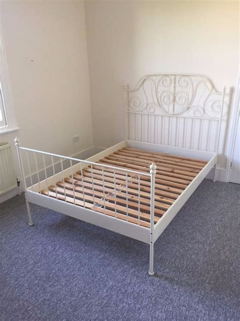Leirvik Bed Frame For Sale Photos Ikea Mattress Home Interior Desgin