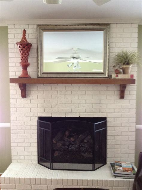 White Painted Fireplaces by White Painted Brick Fireplaces