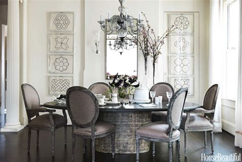 Decorating Dining Room Tables by Gray Dining Room Round Table Decorating Ideas Dixon Hbx