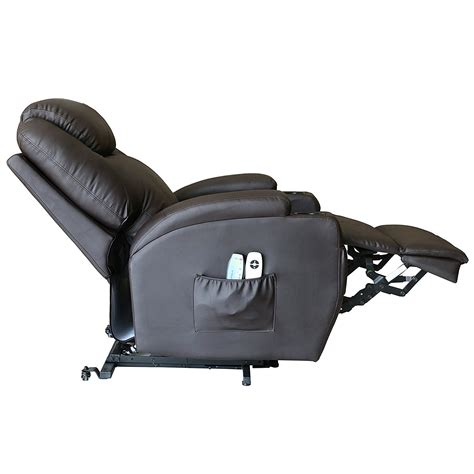 recliner chairs with wheels deluxe wall hugger power lift heated vibrating massage