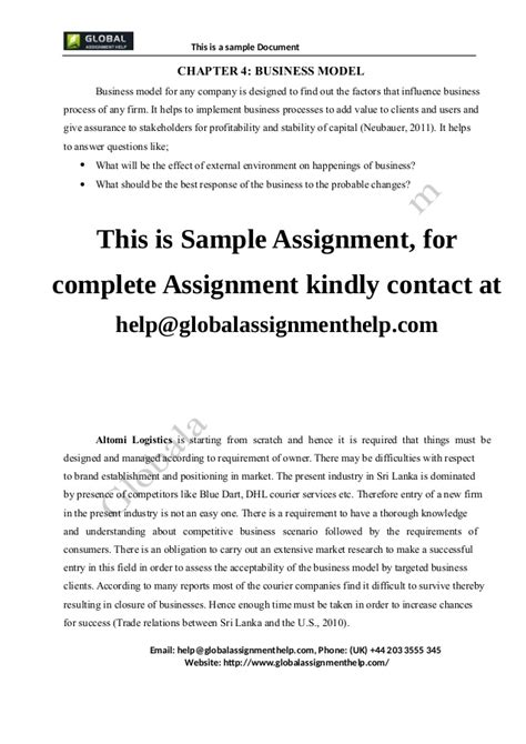 Business Letter Assignment Pdf Business Plan For A Company Assignment Sle