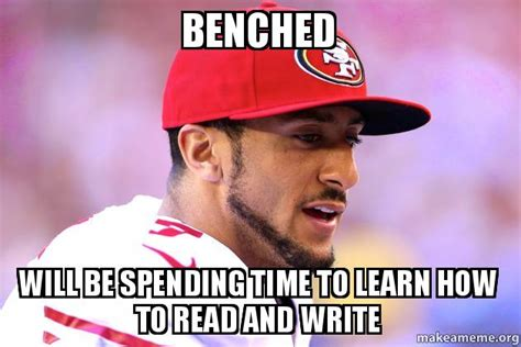 How To Read Meme - benched will be spending time to learn how to read and