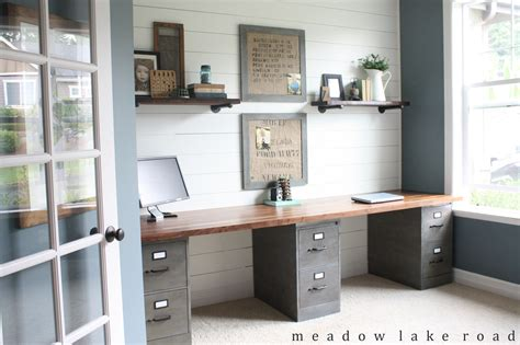 butcher block office desk industrial pipe shelves for the office lakes industrial