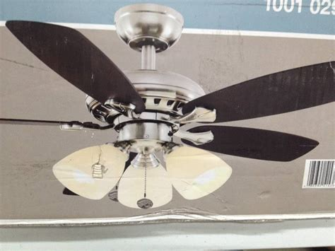 hton bay stainless steel ceiling fan hton bay 36 ceiling fan hton bay san marino 36 in brushed