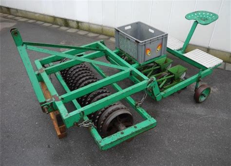 Mechanical Seed Planter by Thilot Mechanical Seeder Sowing Machine Duijndam Machines