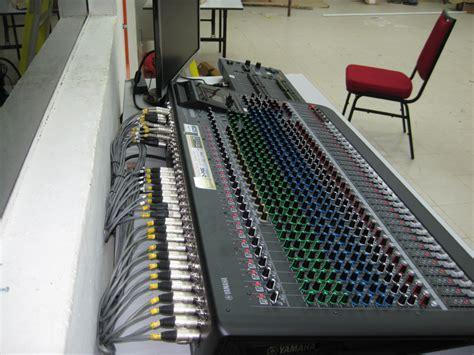 Mixer Yamaha Mgp32x kolej universiti tati dewan canselor tatiuc