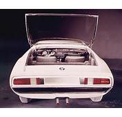 1967 Alfa Romeo Montreal Expo Prototipo Bertone  Studios