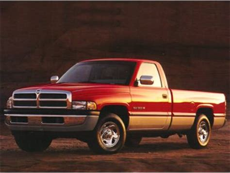 1995 Dodge Br1500 Ws Std Is Estimated Truck Ratings