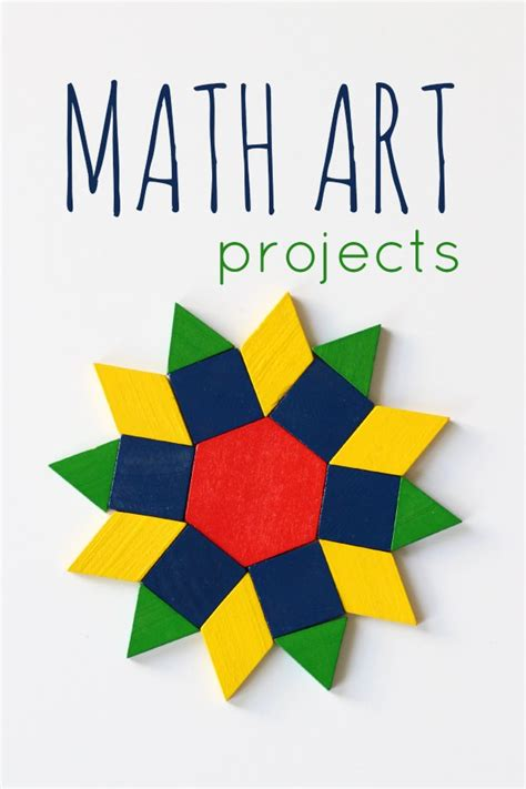 math craft projects arts and crafts math activities high school