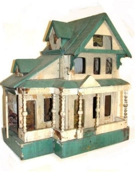 Handmade Dollhouse For Sale - antique dollhouse for sale woodworking projects plans