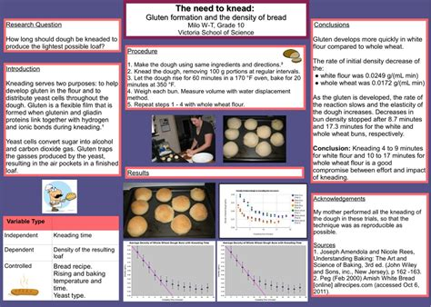 Vancouver Island Regional Science Fair Developing A Sf Science Fair Project Poster