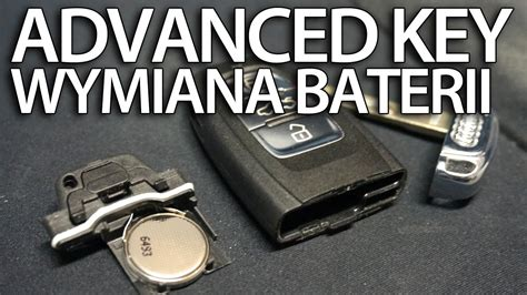 audi advanced key wymiana baterii pilota audi advanced key keyless 2032 a1