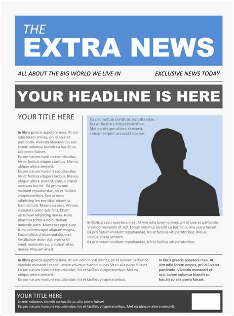 template photoshop newspaper free newspaper template 20 free word pdf psd
