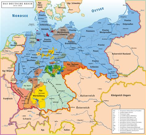map of german states list of historic states of germany