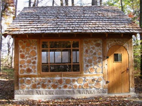 galleries of cordwood homes sheds and cabins