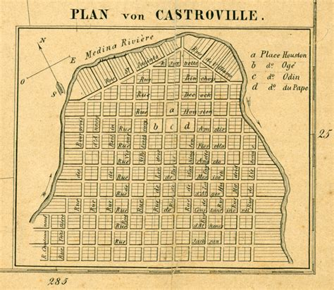 map of castroville texas texas cities historical maps perry casta 241 eda map collection ut library