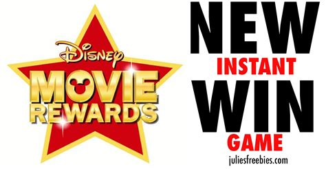 Win Instant Prizes Online - disney movie rewards make every day magical sweeps and