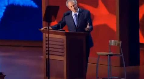 clint eastwood talking to an empty chair ign boards