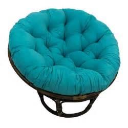 Gray Papasan Cushion Rattan Papasan Chair With Microsuede Cushion Ebay