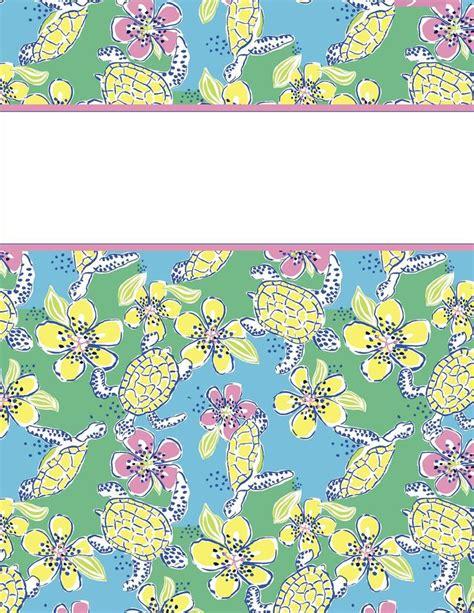 vera bradley printable binder covers my cute binder covers binder and school