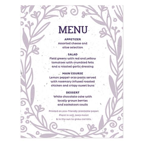 Sle Wedding Pictures by Sle Wedding Menu Template 28 Images Blank Menu Cards