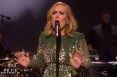 adele biography bbc adele sings hello in live comeback and admits to graham