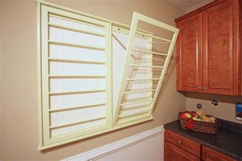 Built In Drying Racks Laundry Mud Rooms Pinterest Built In Wall Laundry