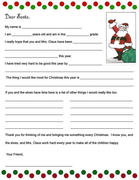 fill in the blanks thank you letter free letter to santa printable i designed these fill