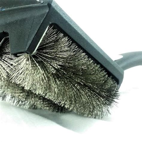 tubular bristle grill cleaning brush outset clean grill