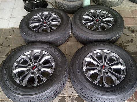Velg Mobil Model Skyline R17 Ready Stok jual velg oem fortuner trd new ban r17 merk brigestone ssw wheel s bursa seken