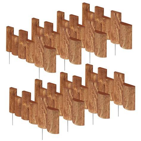 greenes fence    log edging  pack rcb pk