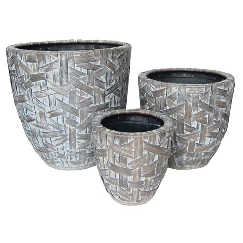 Curved Planters by Cardiff Curved Planter Set Of 3 Pride Garden