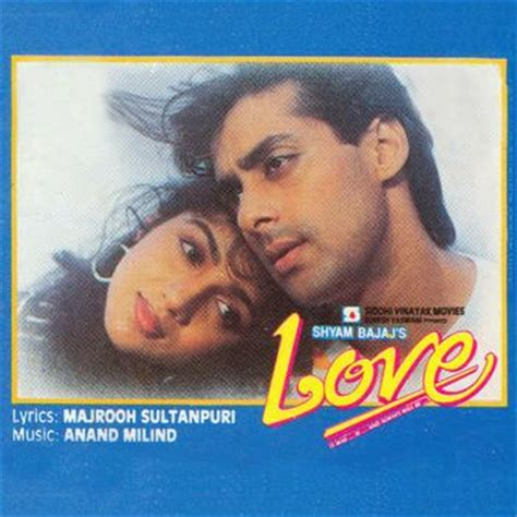 love film video song salman khan love 1991 anand milind listen to love songs music