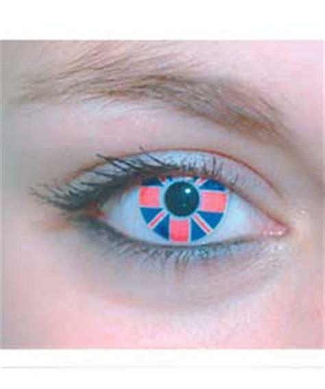 four eyez fashion contact lenses union jack contact